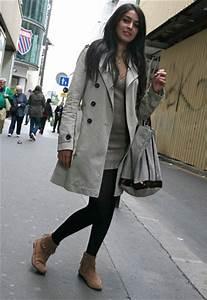 Bottines Avec Robe : boots en nubuk franges mode micro trottoir des filles tendance aufeminin ~ Carolinahurricanesstore.com Idées de Décoration