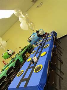 Choo Choo Arron Is Three A Thomas The Train Inspired