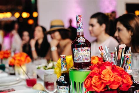 JonOne Celebrates the Launch of Hennessy V S Limited
