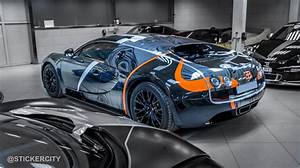 Bugatti Veyron Super Sport : black chrome bugatti veyron super sport by sticker city gtspirit ~ Medecine-chirurgie-esthetiques.com Avis de Voitures