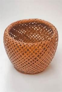 Cache Pot Tressé : cache pot ancien vintage rotin tress ~ Teatrodelosmanantiales.com Idées de Décoration