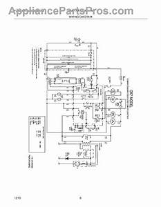Parts For Frigidaire Fgmv174kfb  Wiring Diagram Parts