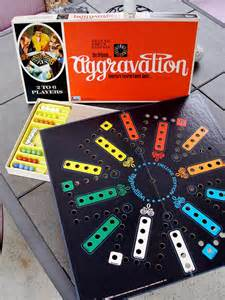 Deluxe Aggravation Board Game