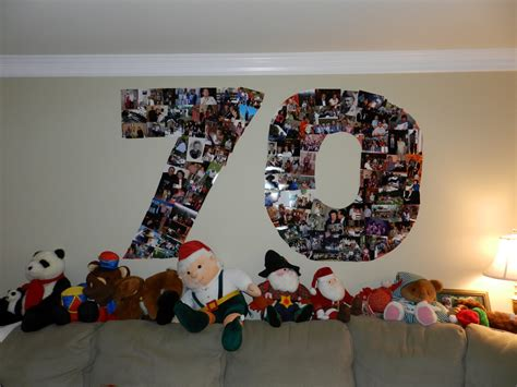 70 Birthday Decorations by Trouble Happy 70th To My