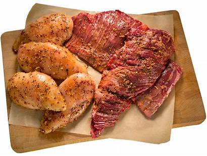 Ready Cook Cooked Meat Foods Marinated Custom