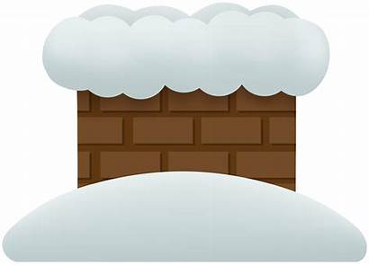 Chimney Winter Clipart Snowy Yopriceville Previous