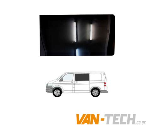 vw t5 t5 1 privacy glass tinted windows 1 x drivers slider 1 x fixed passengers tech