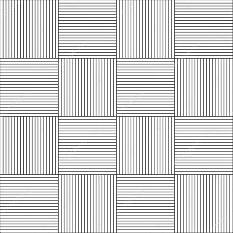 Seamless Horizontal And Vertical Line Pattern — Stock