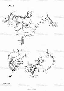 Suzuki Atv 1990 Oem Parts Diagram For Electrical