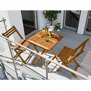 Balkonmöbel Set Holz : sunfun diana balkonm bel set 3 tlg balkonklapptisch diana holz klappstuhl diana 8302 ~ Yasmunasinghe.com Haus und Dekorationen