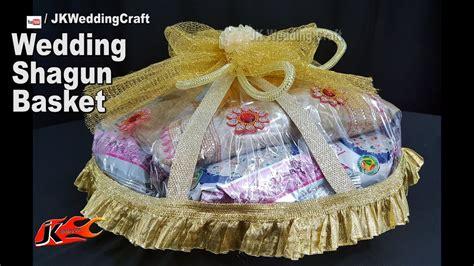 diy wedding shagun basket basket decoration idea jk