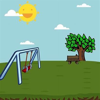 Playground Taman Bermain Park Swing Bajka Spielplatz