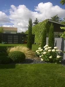 Sculpture De Jardin Contemporaine : paysagiste jardin contemporain plantation de massifs de fleurs pose de gazon ~ Carolinahurricanesstore.com Idées de Décoration