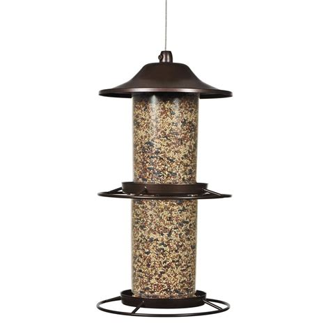 squirrel proof bird feeder home depot pet panorama bird feeder 325s the home depot