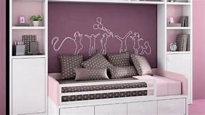 la chambre des jeunes filles shabille de violet With chambre violet et rose