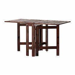 Table à Rabat Ikea : pplar table rabat brun ikea france ikeapedia ~ Teatrodelosmanantiales.com Idées de Décoration