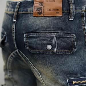 It Denim Size Chart Summer Mens Retro Cargo Denim Shorts Vintage Acid Washed