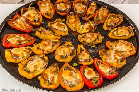 sardine cuisine mini poivrons farcis aux sardines et à la scamorza
