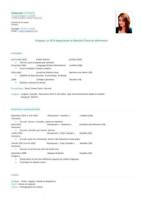 Exemple Curriculum by Exemple Curriculum Vitae Etudiant New Exemple De