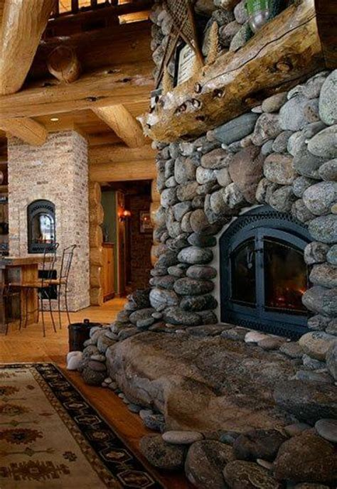 river rock fireplace 13 most amazing fireplaces on earth apartment geeks