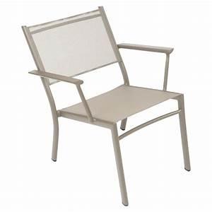Fauteuil Bas De Jardin : fauteuil bas costa fauteuil de jardin en toile pour salon de jardin ~ Teatrodelosmanantiales.com Idées de Décoration
