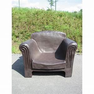 Fauteuil D Extérieur : fauteuil club pour jardin ~ Teatrodelosmanantiales.com Idées de Décoration