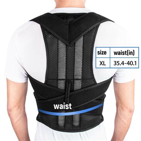 Posture Corrector for Men Women Back Brace Adjustable ...