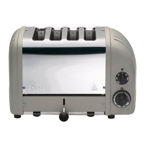 dualit 4 slice toaster dualit newgen 4 slice shadow toaster 47444 the home depot