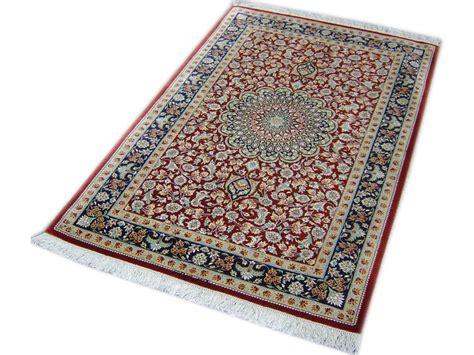 Tapis Iranien En Soie by Ghoum Soie Tapis Prestigieux N 176 138 119x79cm
