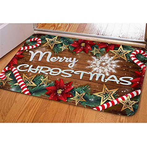 Merry Doormat by Hugs Idea Merry Doormat Welcome Door Mat Rug