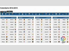 Calendario liga santander 2 2019 2018 Calendar