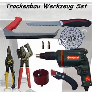 Werkzeug Für Trockenbau : rubrik bauen und renovieren mietservice baumeister ~ Watch28wear.com Haus und Dekorationen