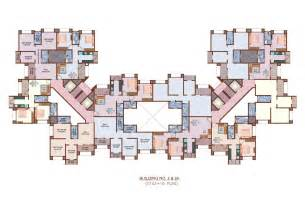 residential blueprints floor plans nancy thane mumbai residential