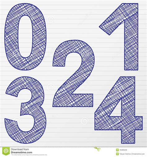 drawing number   royalty  stock images image