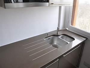 Granits deco plan de travail en quartz unistone bruno for Decoration pour jardin exterieur 5 cuisine quartz noir