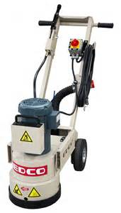 edco wedgeless electric 1 5 hp 115 230 volt concrete floor grinder runyon surface prep supply