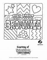 Scout Brownie Pages Coloring Printable Scouts Brownies Sheets Sunny Sunflower Template Cookie Worksheets Popular Getcolorings Templates Cartoon sketch template