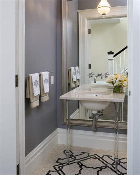 beveled floor mirror transitional bathroom tish key