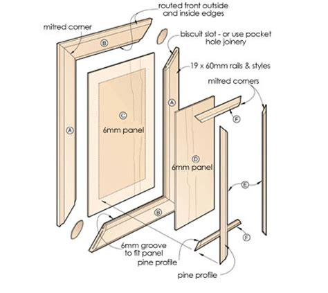 make your own cabinet doors home dzine kitchen how to make raised panel cabinet or
