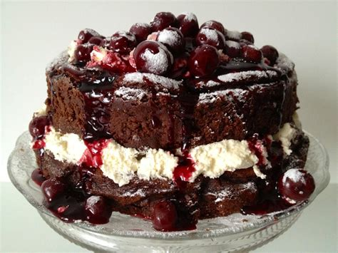 recipe flourless chocolate chestnut sour cherry truffle