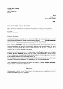 Lettre De Résiliation Edf : exemple courrier de r siliation courrier annulation jaoloron ~ Maxctalentgroup.com Avis de Voitures
