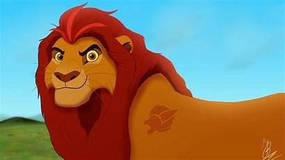 Kion Lion Guard Adult King Deviantart Leader