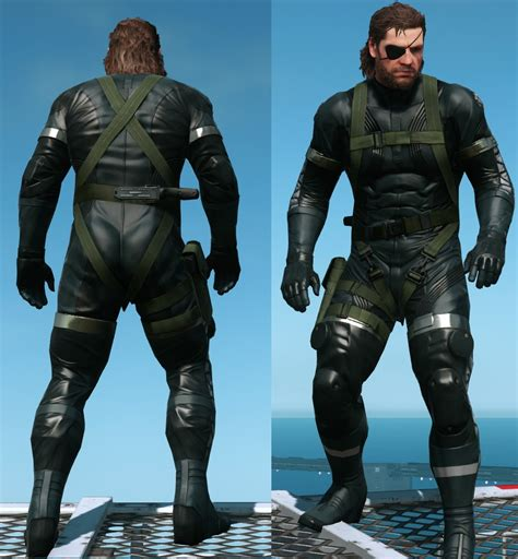 Sneaking Suit Gear Removal V221 At Metal Gear Solid V
