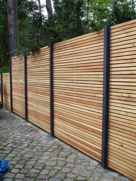 Zaun Holz Quer by Gartenzaun Holz Quer Gartenzaun Holz Selber Bauen Top