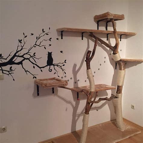 kratzbaum aus baumstamm selber bauen diy naturkratzbaum selber bauen 187 katzenblog de