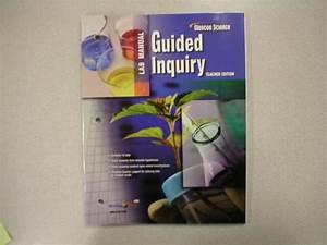 Glencoe Science Guided Inquiry Lab Manual Te 0078747198