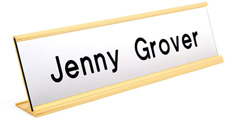 Office Desk Name Tag Template by Engraved Name Plates For Office Desk Nameplates Desk