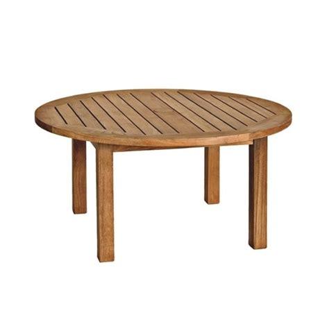 round patio coffee table three birds casual canterbury round patio coffee table in teak