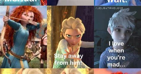 another jelsa story part 2 merida elsa