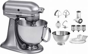 Kitchenaid Artisan Schüssel : kitchenaid k chenmaschine artisan 5ksm175psecu mit gratis gem seschneider und 3 trommeln 300 w ~ Yasmunasinghe.com Haus und Dekorationen